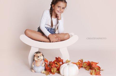 Őszi gyermekfotózás 20-25 db retusált fotóval