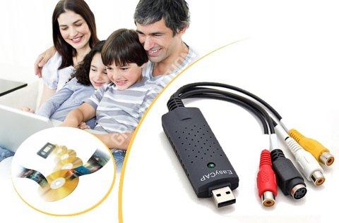 EasyCap USB-s média digitalizáló
