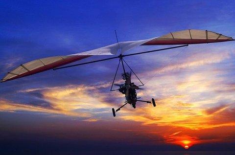 Élményrepülés motoros sárkányrepülővel