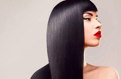Botoxos hajkezelés elvékonyodott hajra