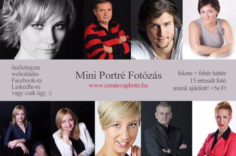 Portréfotózás 15 retusált képpel