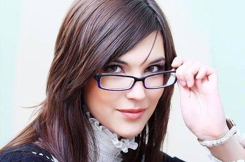Komplett egyfókuszú dioptriás szemüveg
