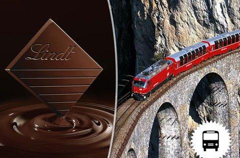 Semmeringi kirándulás Lindt csokigyár látogatással