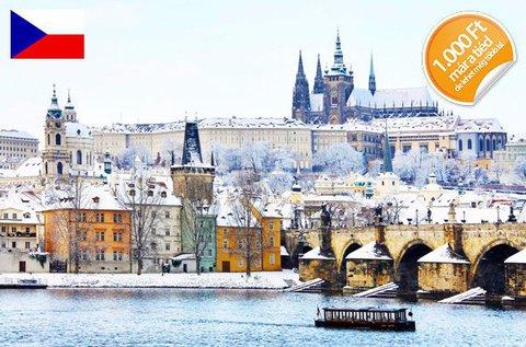 4 csillagos kiruccanás a történelmi Prágában