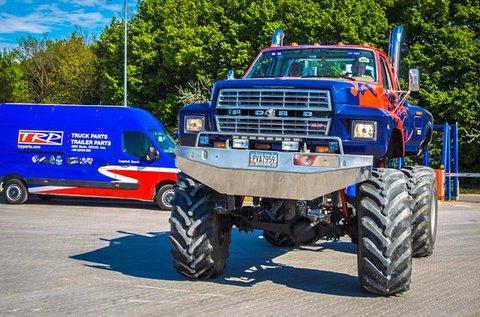 5 körös élményvezetés Monster Truck-kal