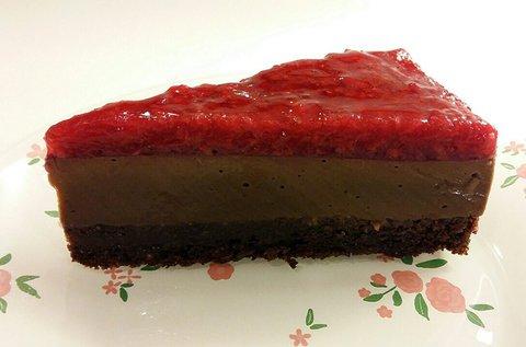 1 szelet paleo torta