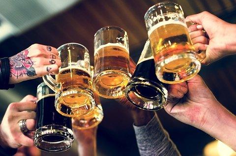 5 korsó Bernard sör a Corvin Sörfesztiválon