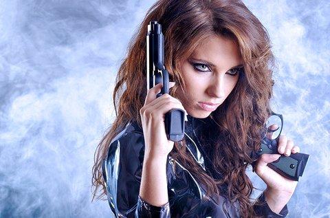 Texas csillag lövészet 1 főre választható fegyverekkel