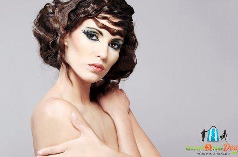 Női hajvágás ajándék keratinos hajkezeléssel