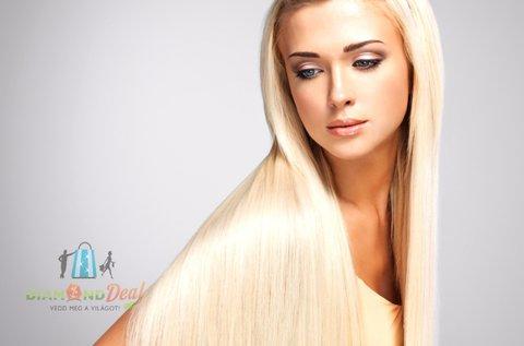 Tartós hajegyenesítés extra keratinnal