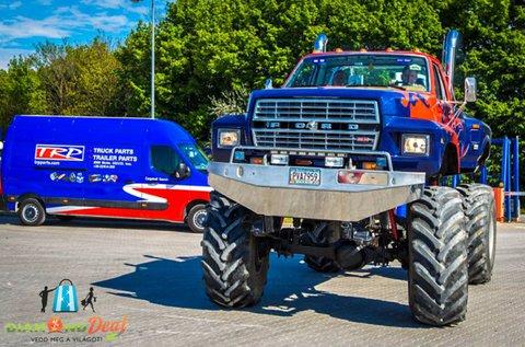 25 perces Monster Truck élményvezetés Gyálon