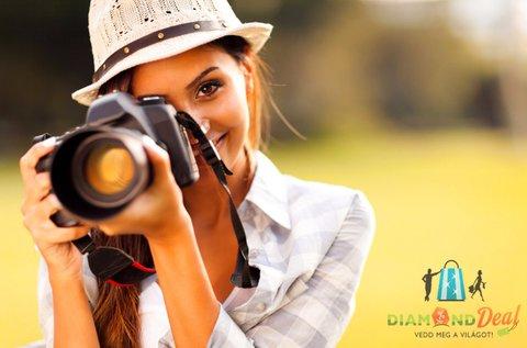 4 órás privát fotós tanfolyam képértékeléssel