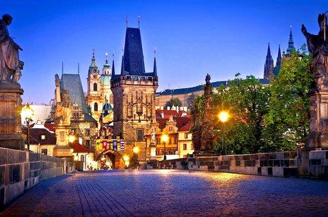 Téli luxus városnézés Prágában