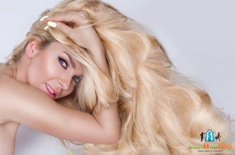 Hajvégápoló hajvágás lenolajas ápolással