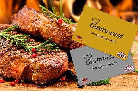 6 hónapos GastroCard ezüst kártya