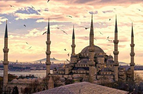 4 napos városnézés Isztambulban repülővel