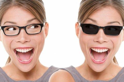 Speciális clip-on szemüveg készítés