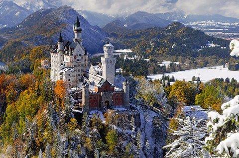 Kirándulás a világhírű Neuschwanstein kastélyhoz