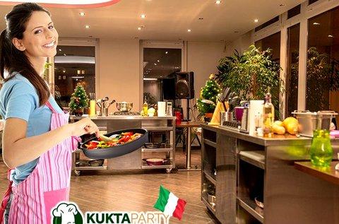 Dolce Italia főzőkurzus 3 fogásos menü készítésével