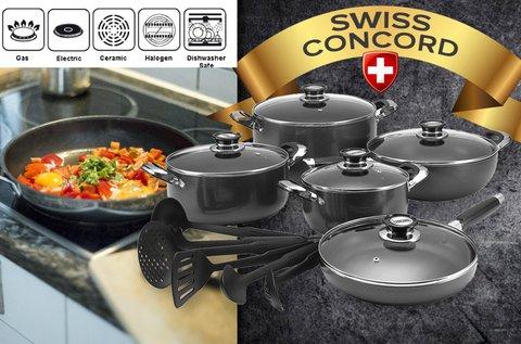 16 részes Concord Swiss edénykészlet