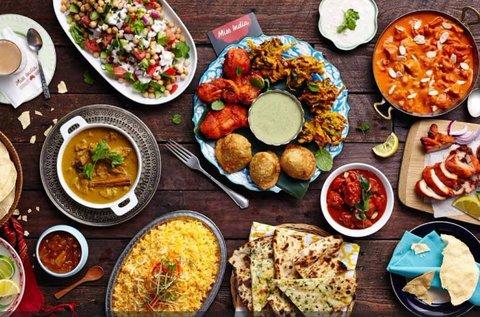 3,5 órás indiai főzőest komplett vacsorával