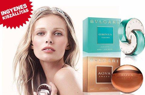 Bvlgari női és férfi parfümök