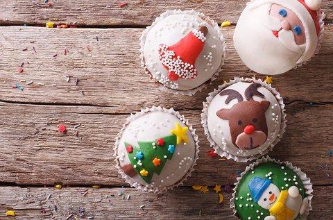 Karácsonyi cupcake díszítő tanfolyam
