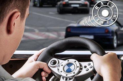 Autóverseny szimulátorozás 1 főnek 2 órában