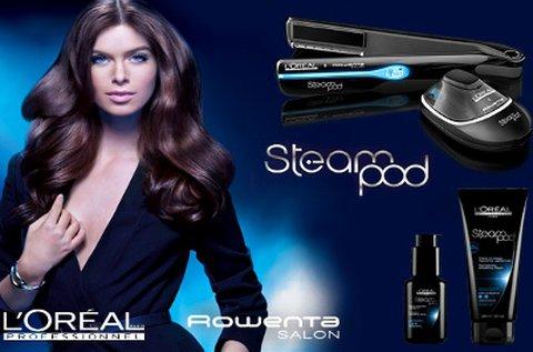 L'Oréal SteamPod hajszerkezet újjáépítés