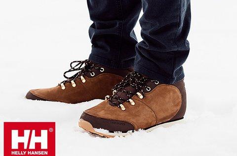 Helly Hansen férfi téli cipő prémium bőr felsőrésszel