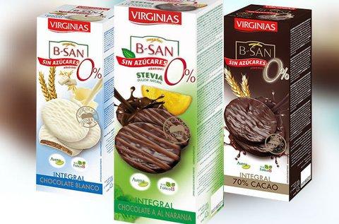 Valódi kakaóbabból készült Virginias csokis keksz