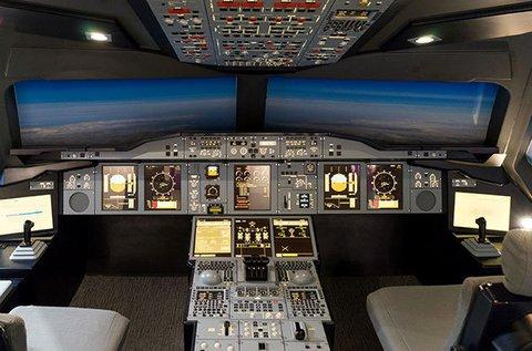 Szimulátoros repülés egy Boeing 737NG fedélzetén