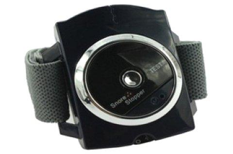 Snore Stopper horkolásgátló óra fekete színben