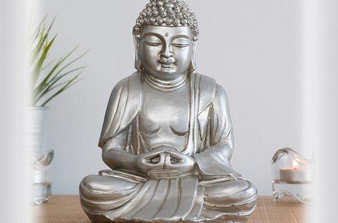 Homania dekoratív Buddha szobor
