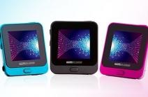 4 GB-os MyAudio Aqua MP4 lejátszó 1,4 colos nagyságú érintőkijelzővel, könnyen kezelhető menüvel, többféle színben