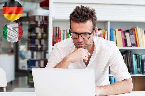 Online olasz és német nyelvtanfolyam