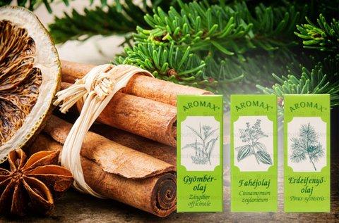 Aromax karácsonyi illóolaj csomag