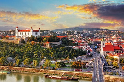 Családi utazás a szlovák fővárosba, Pozsonyba