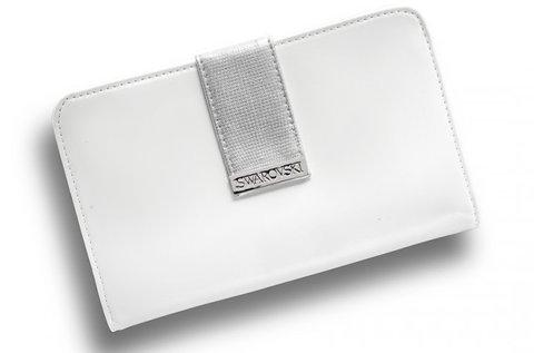 8c2627c035c3 Fehér-ezüst Swarovski női kozmetikai táska 5.990 Ft helyett 1.990 Ft ...