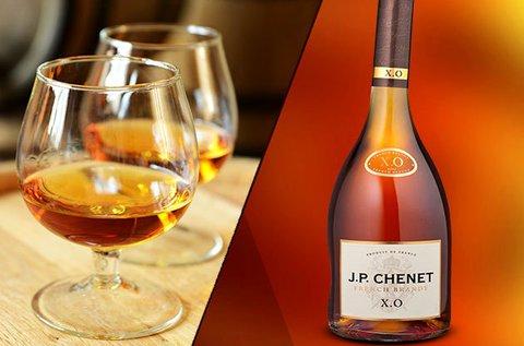 0,5 l-es J. P. Chenet XO French Brandy