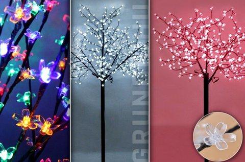 84 LED-es Sakura fa 3 választható színben