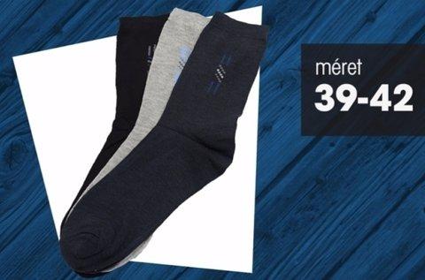 15 pár 39-42-es méretű férfi hosszú zokni