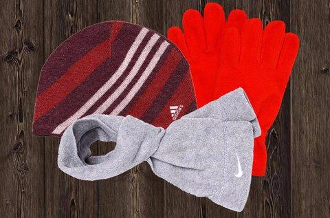 Adidas és Nike téli kiegészítők a családnak