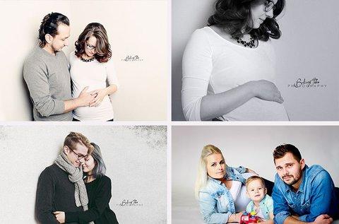 1 órás egyéni, kismama, páros vagy családi fotózás