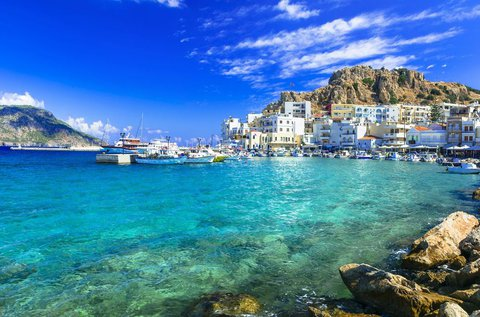 Nyaralás a festői görög szigeten, Karpathoson