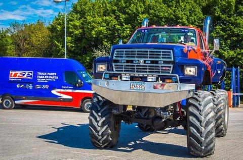 5 körös élményvezetés Monster Truckkal