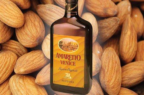 Amaretto Venice 0,7 l-es, 18%-os olasz mandulalikőr