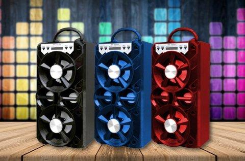 Bluetooth multimédia hangfal 3 féle színben