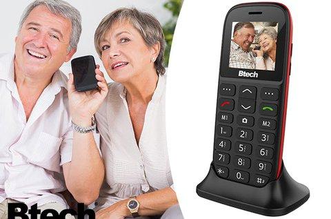 Btech BGM-1050 Slim senior mobiltelefon