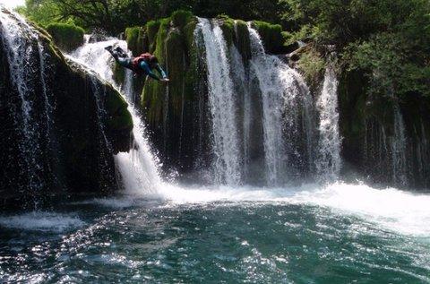 Horvátországi rafting 2 főnek túravezetéssel